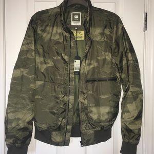G star Raw camo bomber jacket